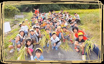 自然体験・農作業(季節ごとに)