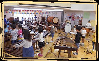 和太鼓・洋楽器などの音楽活動